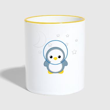 Penguin - Penguins - Penguin Motive - Be Yourself - Contrasting Mug