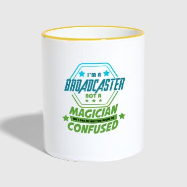 Star - Broadcaster - Popular - Exclusivo - Taza en dos colores