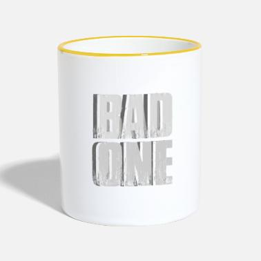 Bad Manners Bad bad boy girl - Two-Tone Mug