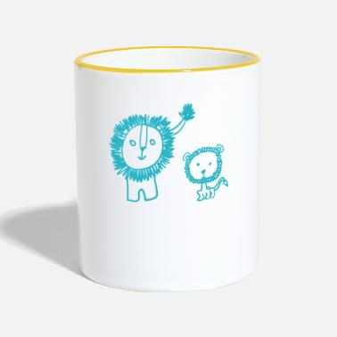 Big-brother Brother Bruderherz Big Brother Big Brother - Contrasting Mug