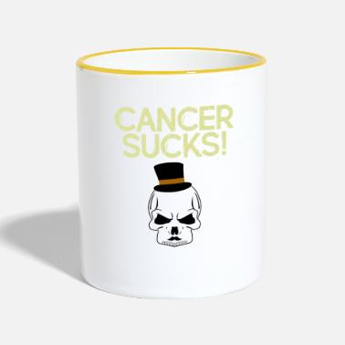 Cancer Sucks Cancer sucks - Two-Tone Mug