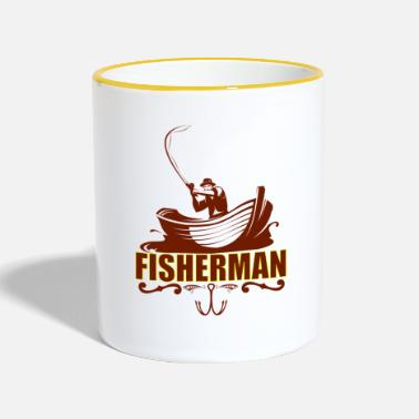 Fisherman Fisherman - Two-Tone Mug