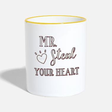 Steal Mr. Steal Your Heart - Contrasting Mug