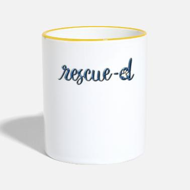 Rescue Rescued - Two-Tone Mug