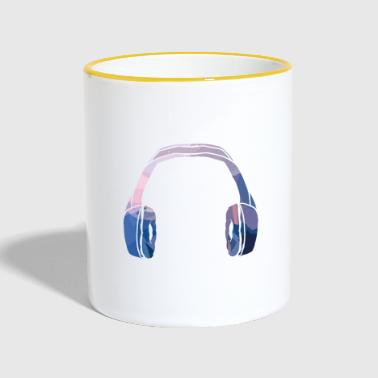 Headphone Headphones - Contrasting Mug