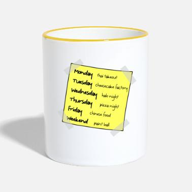 Big Big Bang Week - Two-Tone Mug