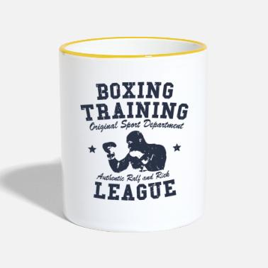 Training boxing training - Mug contrasté