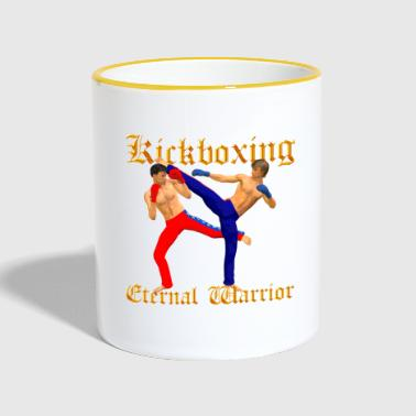 Kickboxing Warrior - Mok tweekleurig