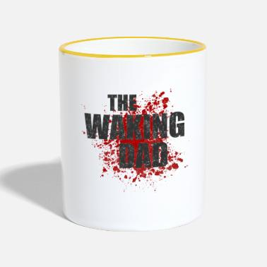 Zombie The waking dad - Contrasting Mug
