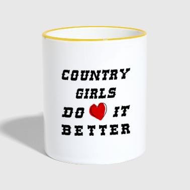 Country girls - Contrasting Mug