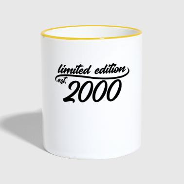 Limited Edition 2000 is - Mug contrasté