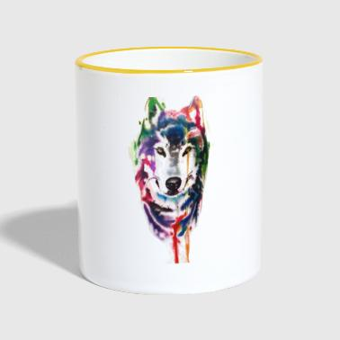 colored wolf - Tazze bicolor