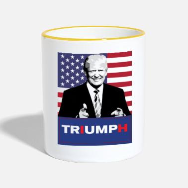 Trump Trump shirt - Mok tweekleurig