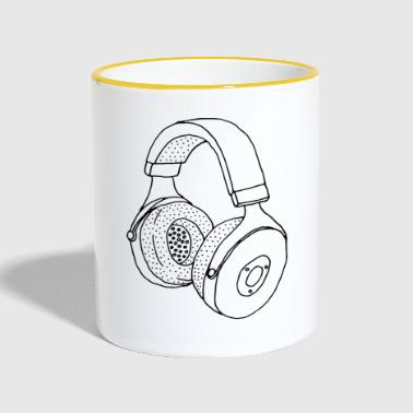 headphone - Contrasting Mug