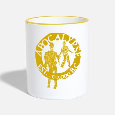 Tlc zombies gold - Mug bicolore