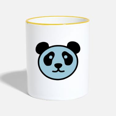 Stylish PANDA STYLISH - Mok tweekleurig