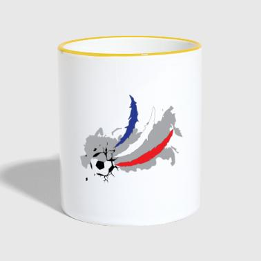 Coupe du Monde de Football Coupe du Monde France - Mug contrasté