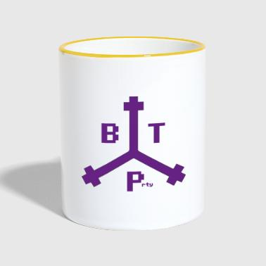 Boston Tea Party Purple Logo, Lahjaideoita - Kaksivärinen muki
