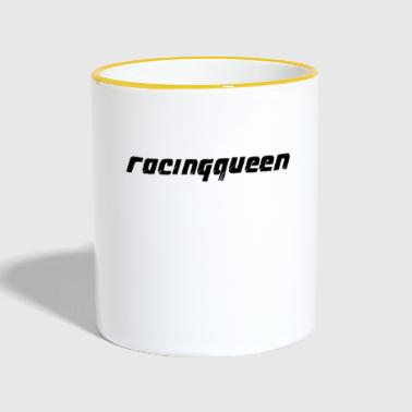 Racing Queen - Mok tweekleurig
