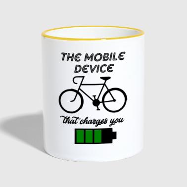 the mobile device - Contrasting Mug