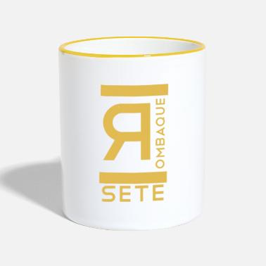 Set SETE Rombaque - Mok tweekleurig