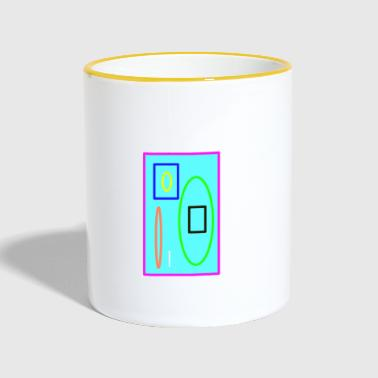 Colorful graphic - Contrasting Mug