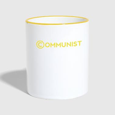 communisme Copyright - Mok tweekleurig