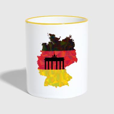 Made In Germany Deutschland Germany - Tasse zweifarbig