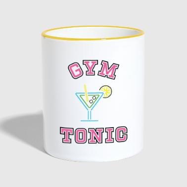 GYM TONIC - Mok tweekleurig