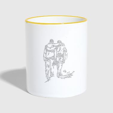 Invisible veterans - Contrasting Mug