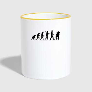 Baryton Brass Band Evolution Gift - Tvåfärgad mugg