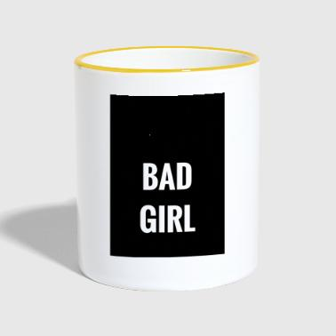 Bad Girl - Mok tweekleurig