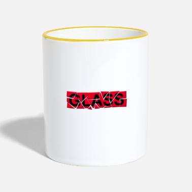 Glass glass - glass - Two-Tone Mug