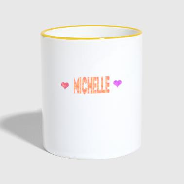 Michelle - Contrasting Mug