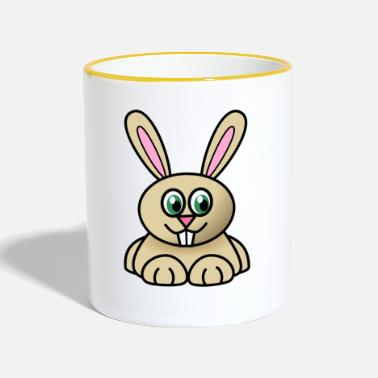 Joey Joey the rabbit - Contrasting Mug