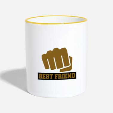 Best Friends Best Friend ... Best Friend - Two-Tone Mug