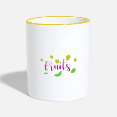 Fruit Fruits - fruits - Mug bicolore