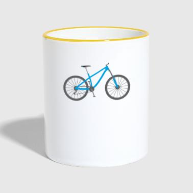 Mountainbike / mountainbike - Tvåfärgad mugg