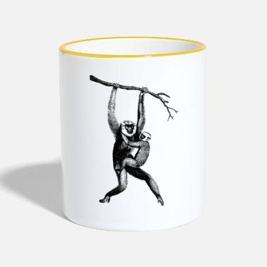 Collections Affen Collection - Tasse zweifarbig