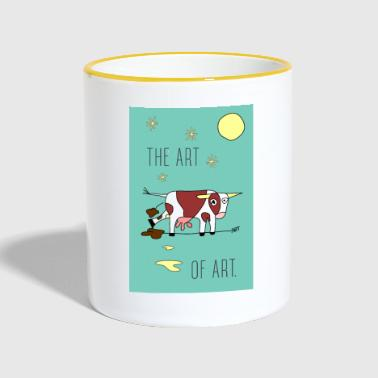 the ART OF ART - Contrasting Mug