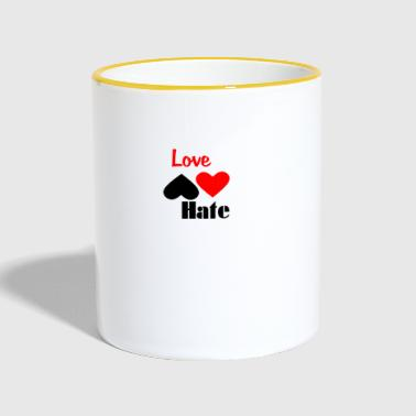 I Hate Love Hate - Tazze bicolor