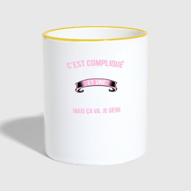 parent - Mug contrasté