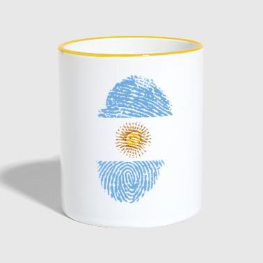ARGENTINA FINGERPRINT | IDEA REGALO - Taza en dos colores