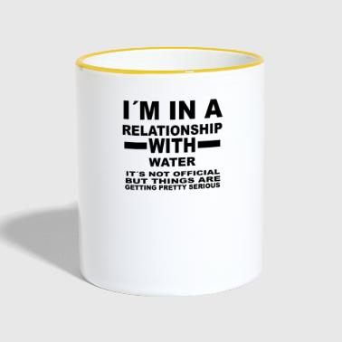 relationship with WATER SPORTS - Contrasting Mug