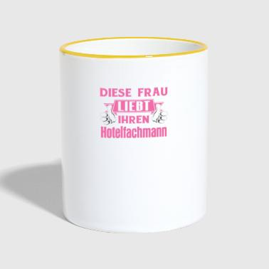 Hotel professional love gift - Contrasting Mug