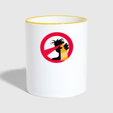 No Spray - Contrasting Mug