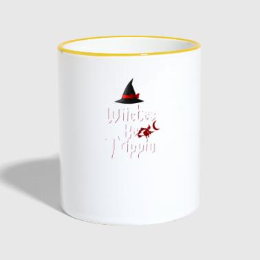 Witches Be Trippin 'Hilarious - Contrasting Mug