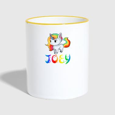 Joey Unicorn Joey - Contrasting Mug