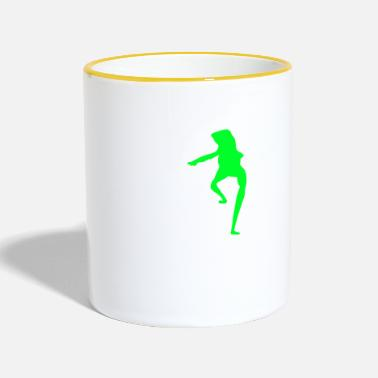 Writing Dat boi shirt white writing - men - Mug contrasté