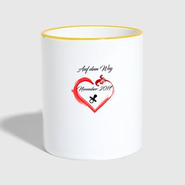 The design for parents, parenting - Contrasting Mug